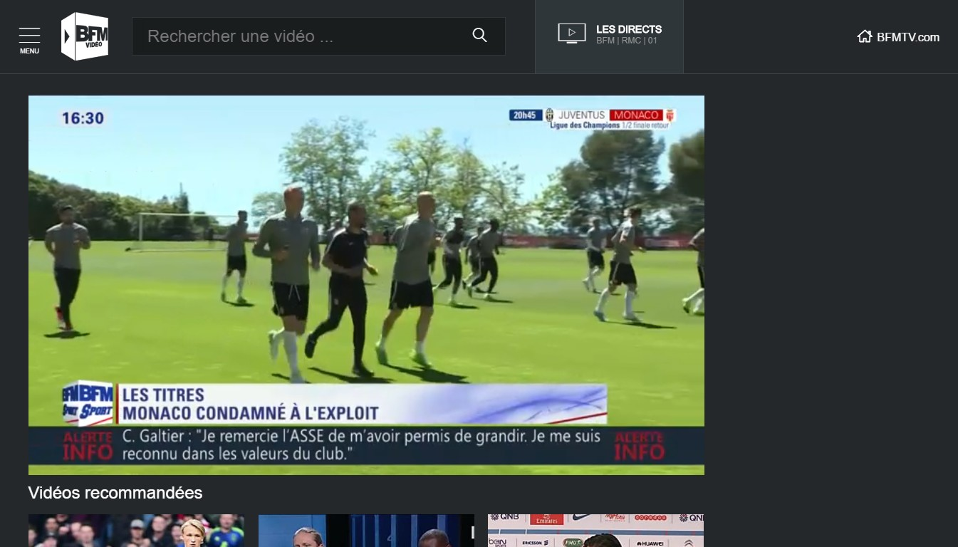 Regarder RMC Sport TV live streaming sur internet